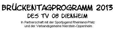 Flyer Brückentag 31.05
